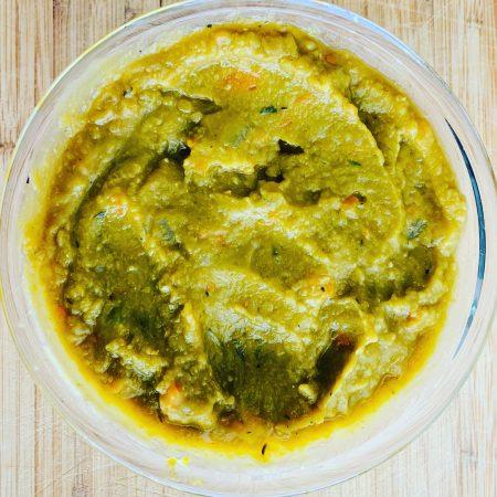 easy vegan split pea soup